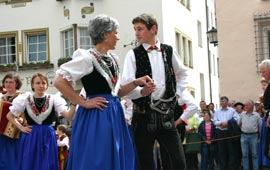 Folk dance group Castelrotto