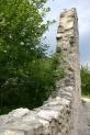12-Teile der Ruine Salegg